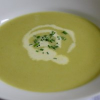 Q-Tron's Celery and Blue Cheese Soup