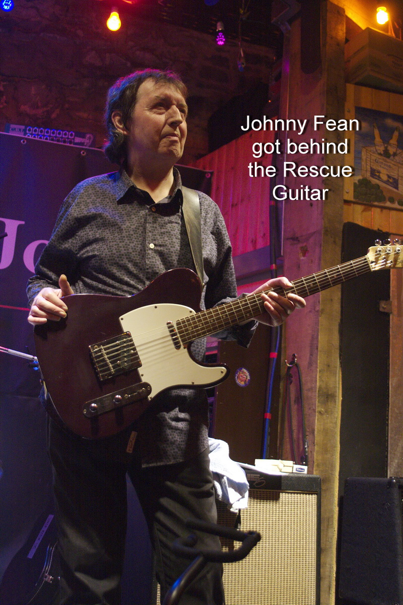 Johnny Fean Rescue Guitar