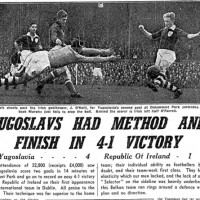 Archbishop John Charles McQuaid and the Yugoslavia Football Match